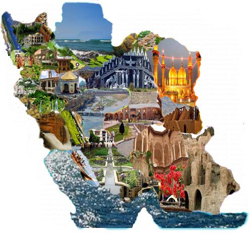 نقشه-ی-جاذبه-های-ایران-1