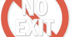 No-Exit-Symbol-Glass-Decal-LB-1742