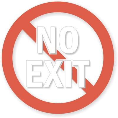 No-Exit-Symbol-Glass-Decal-LB-1742