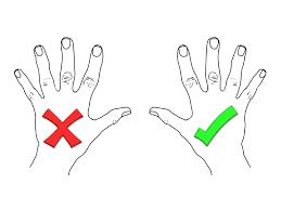 دست چپ در اندونزی