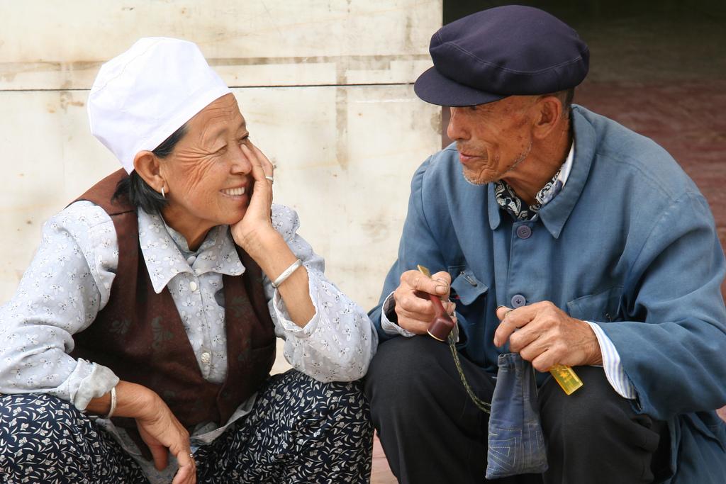احترام به افراد مسن در چین