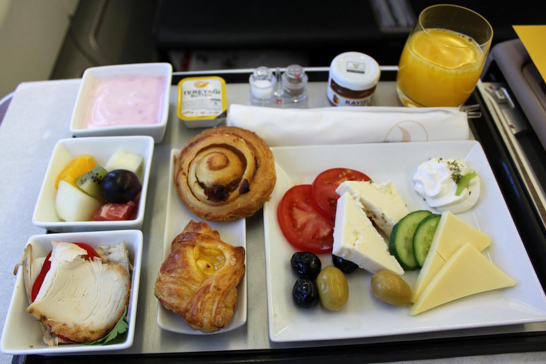 سینی غذا در هواپیما