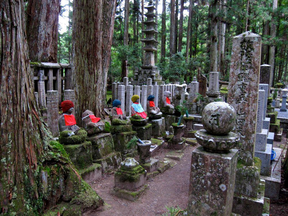 گورستان اُکونوین(Okunoin)، مونت کویا ژاپن