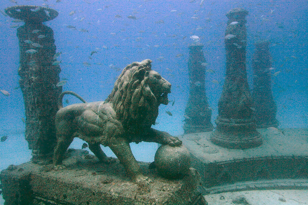 گورستان نپتون مموریال ریف(Neptune Memorial Reef)، فلوریدا