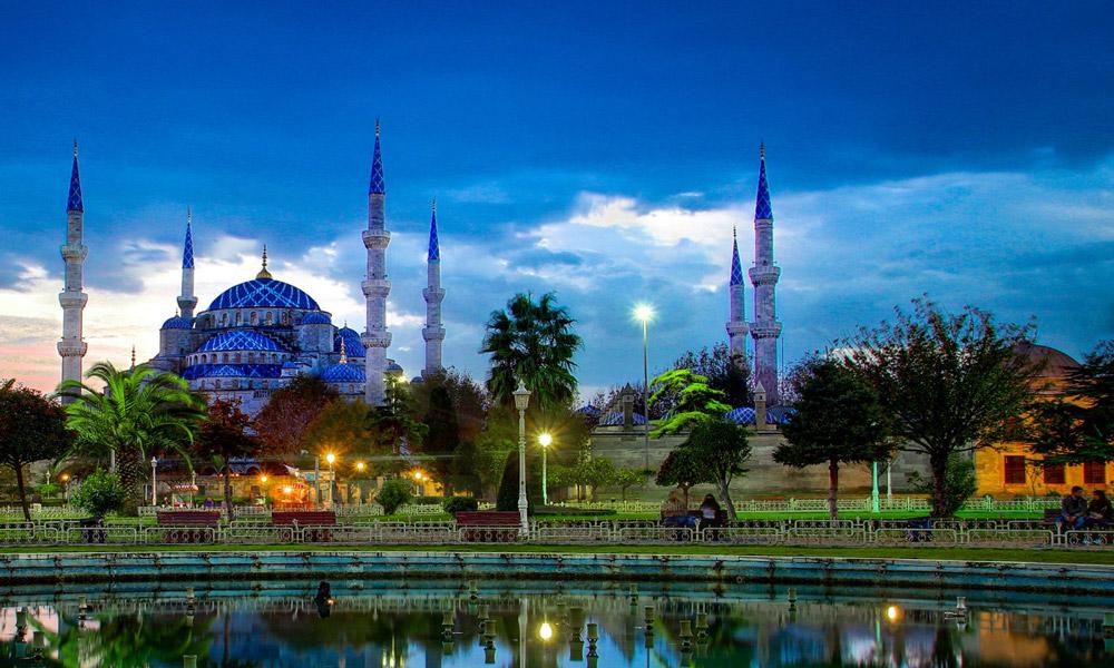 مسجد سلطان احمد(مسجد آبی) در استانبول
