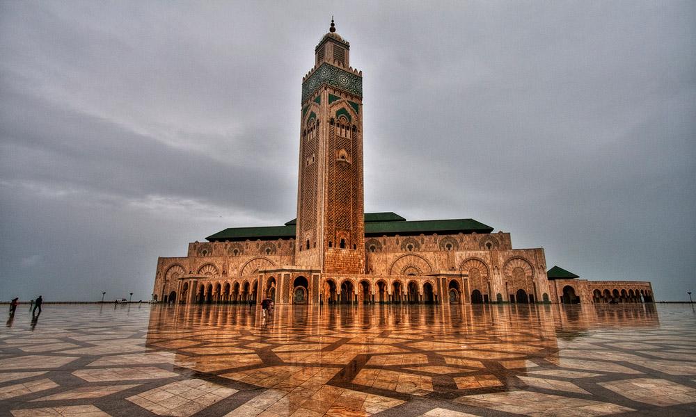 مسجد حسن(2) در کازابلانکا
