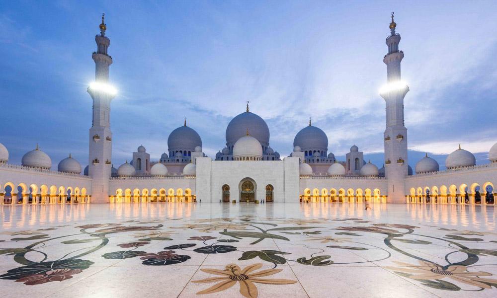 مسجد شیخ زاید در ابوظبی