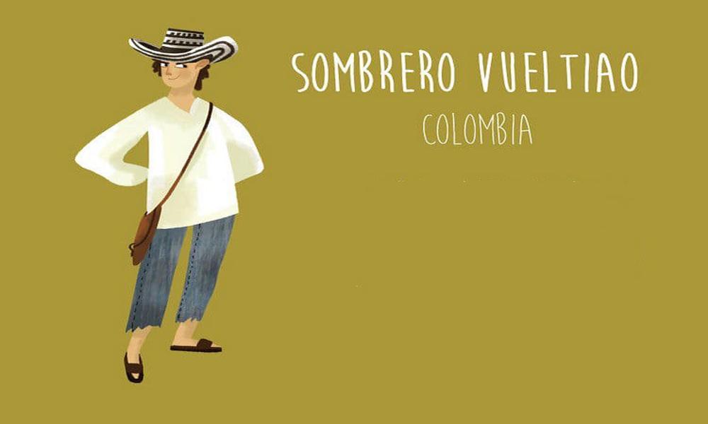سامبررو(Sombrero vueltiao)، کلمبیا