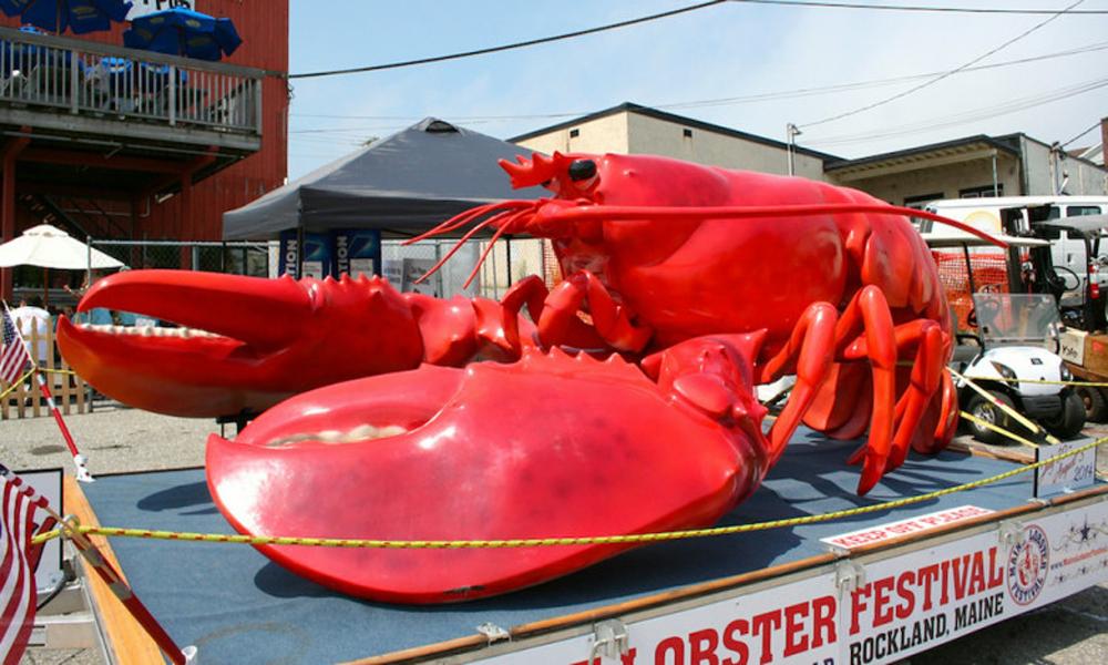 فستیوال خرچنگ در راکلند آمریکا
