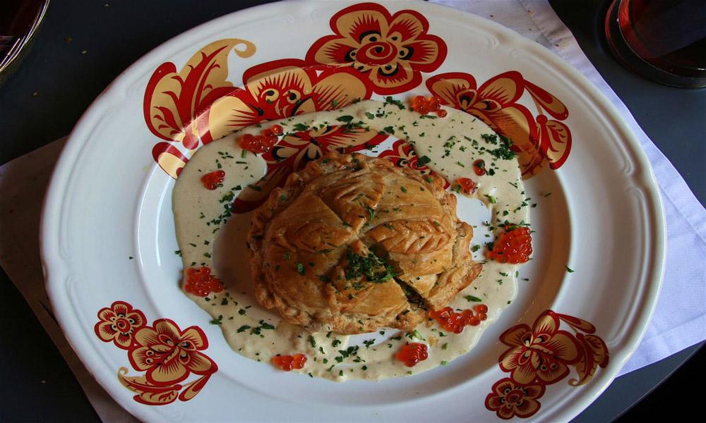 غذاهایی از شمال روسیه و سیبری
