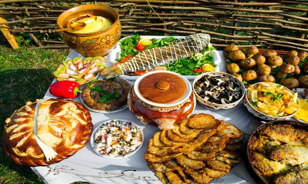 غذاهایی از غرب روسیه