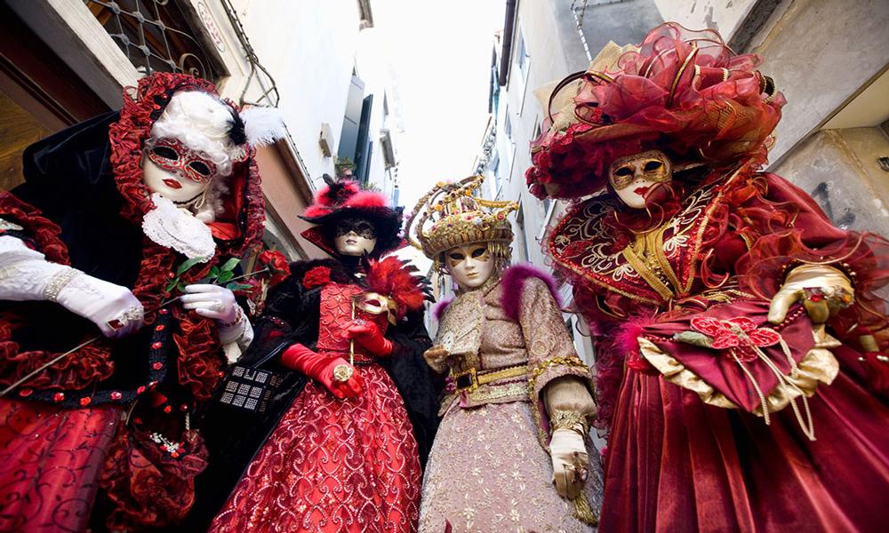 فستیوال کارناوال در ونیز ایتالیا