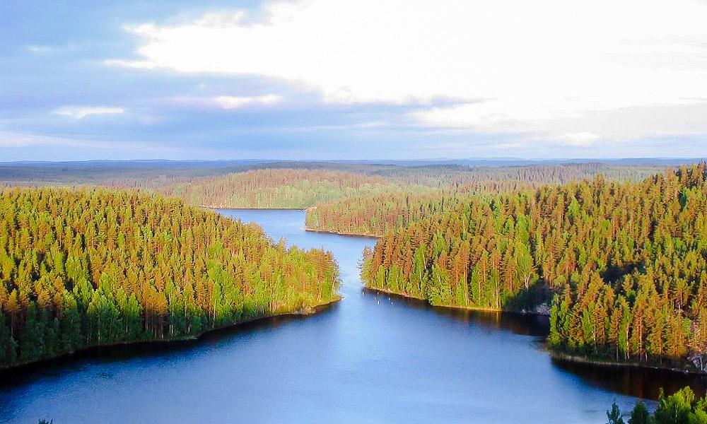 چشم اندازی از فنلاند