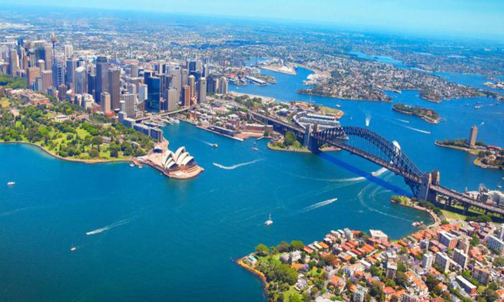 چشم اندازی از استرالیا