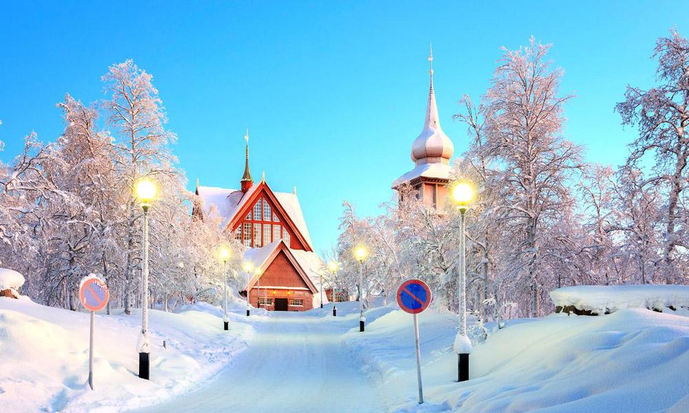 چشم اندازی از سوئد