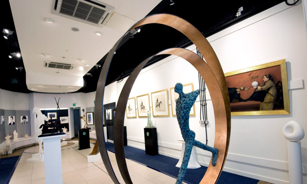 گالری شاهکارهای هنری، فرودگاه آمستردام