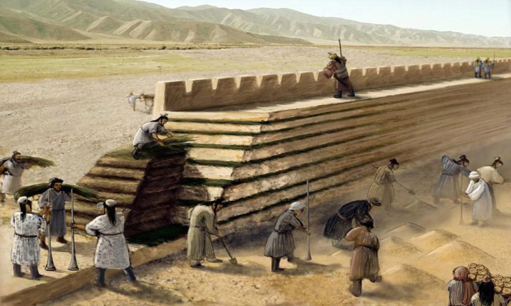 چگونگی ساخت دیوار چین