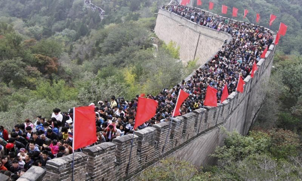 بهترین زمان بازدید از دیوار چین