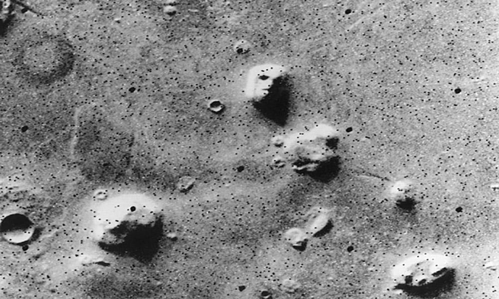 صورت روی مریخ