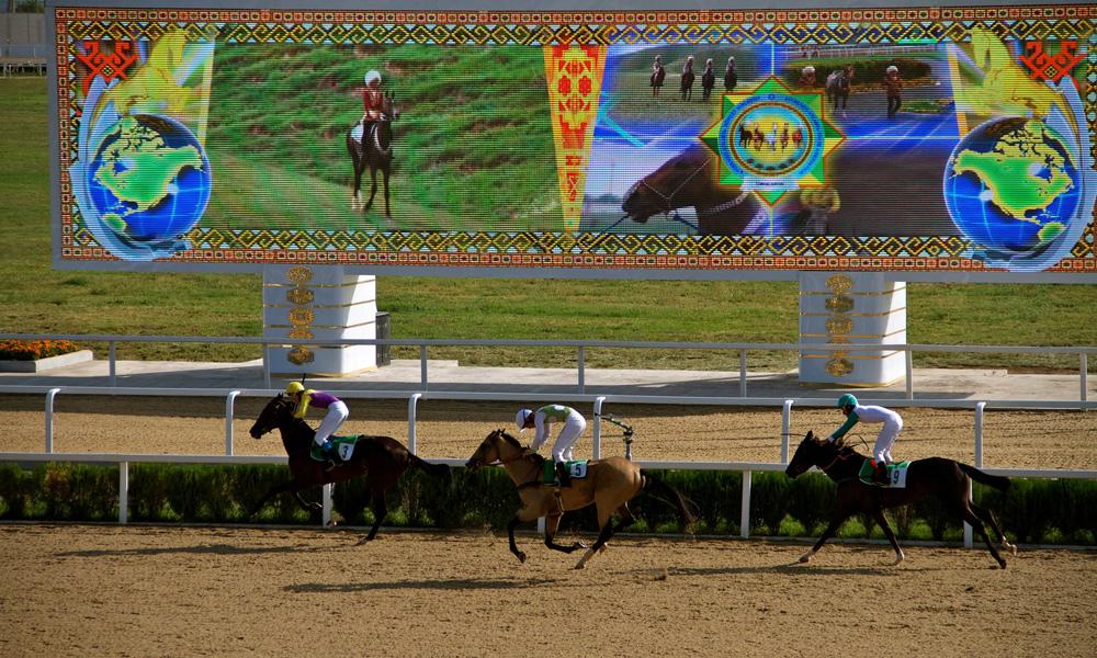 مسابقات اسب سواری در ترکمنستان