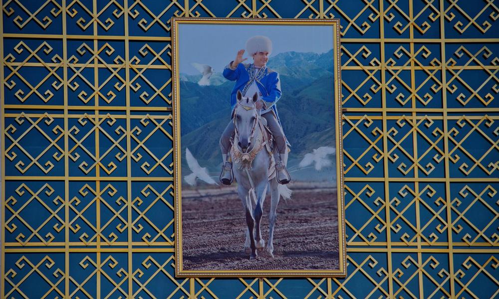 جشن روز اسب در ترکمنستان