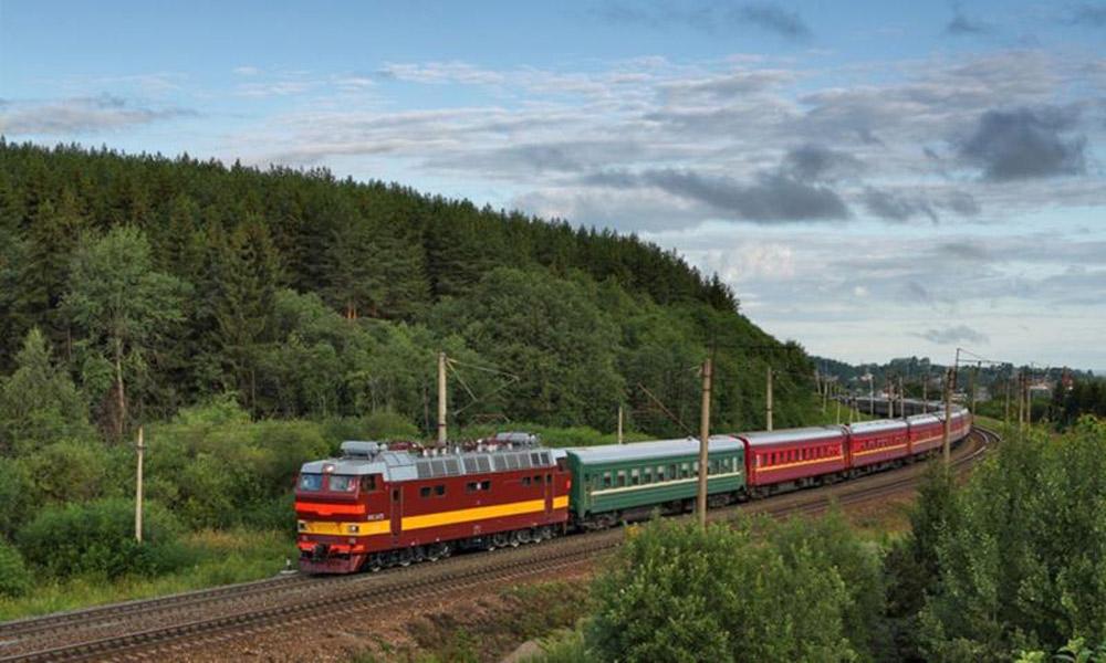 طولانی ترین راه آهن جهان در روسیه