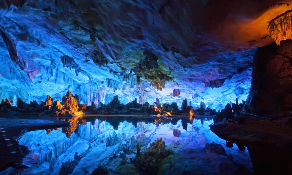 غار کریستال ها، معدن نایکا مکزیک