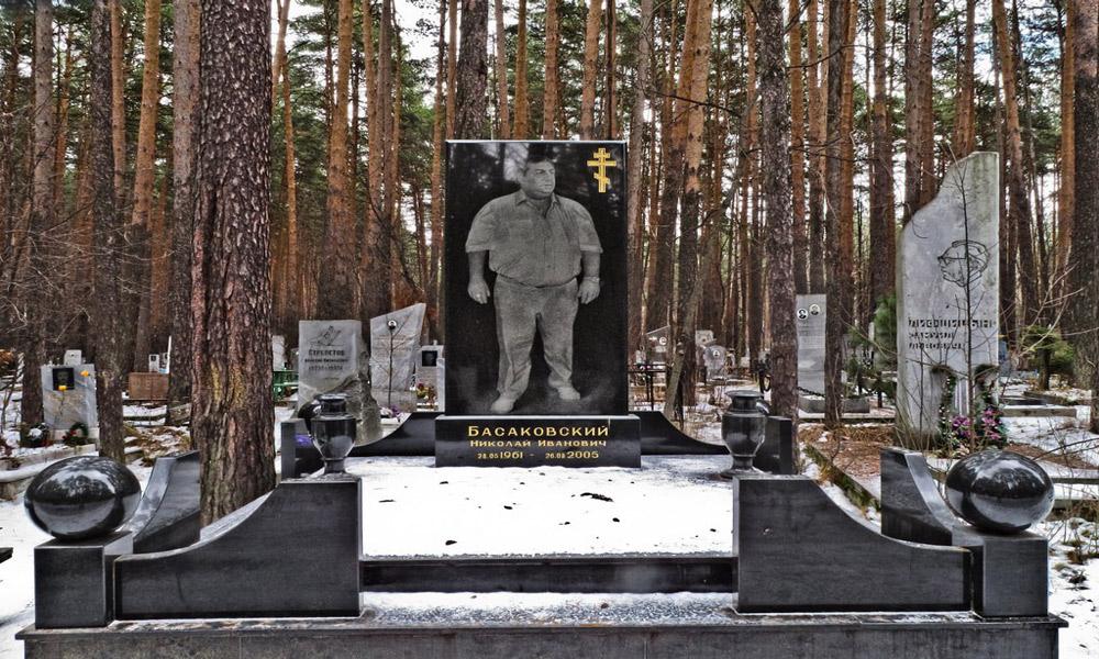 گورستان مافیا در روسیه