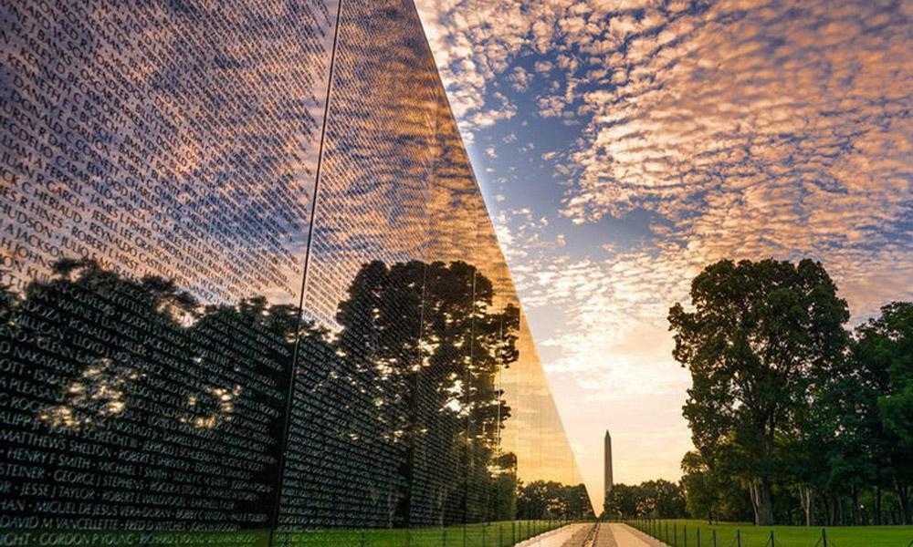 دیوار یادبود کشته شدگان جنگ ویتنام