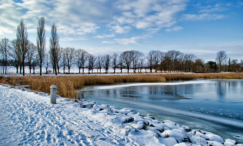 زمستان در دانمارک