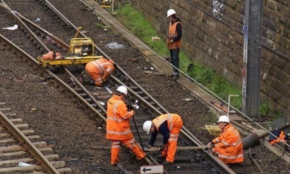 نگهداری از ریل های راه آهن