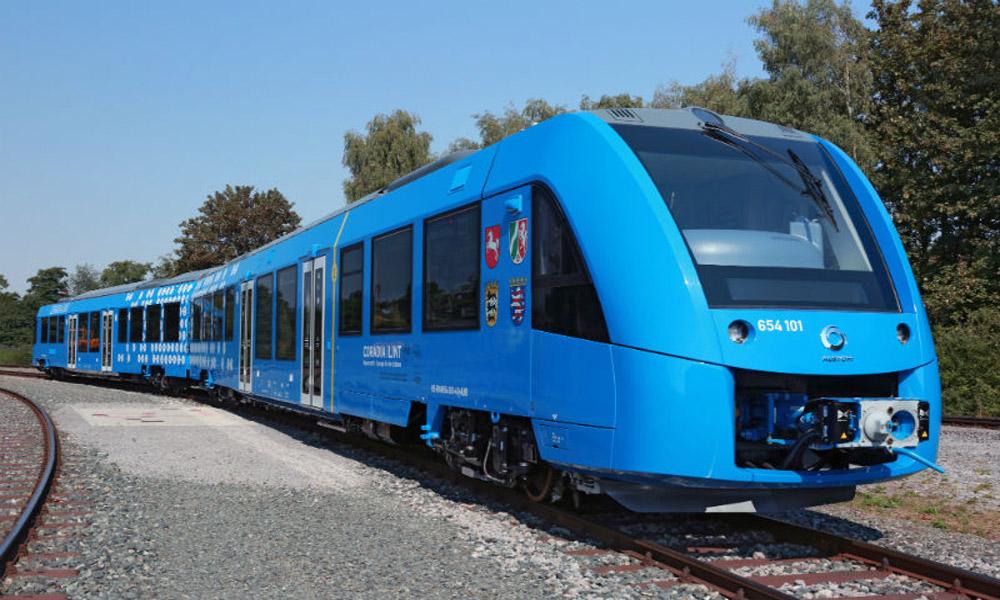 کاهش انتشار گازهای مضر در قطارهای سبز
