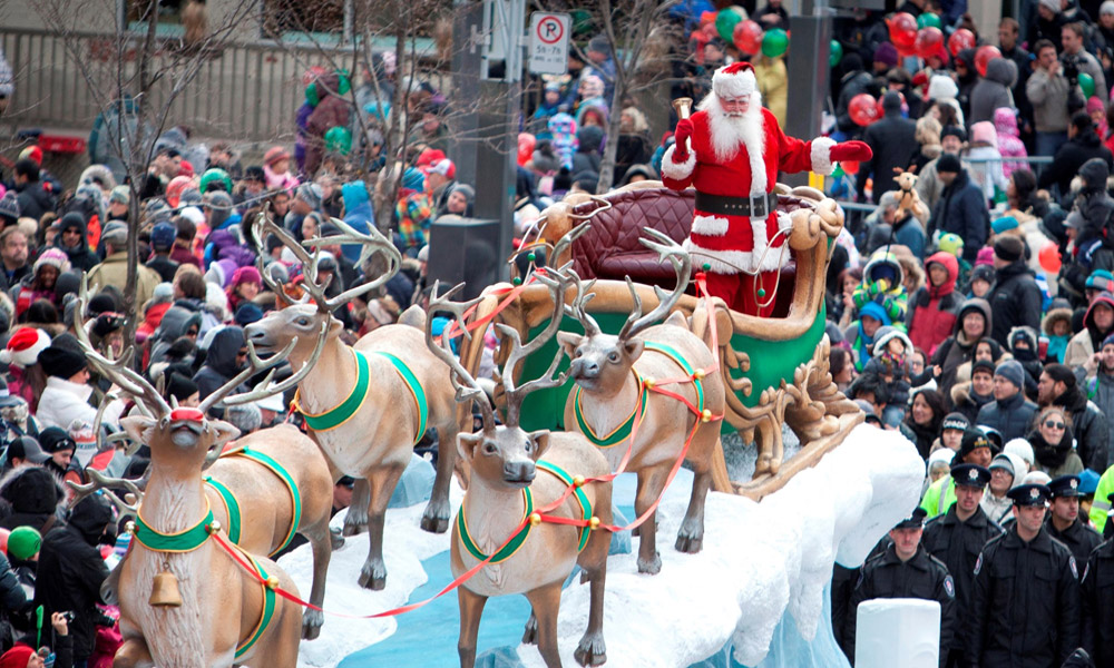 کریسمس در مونترال کانادا