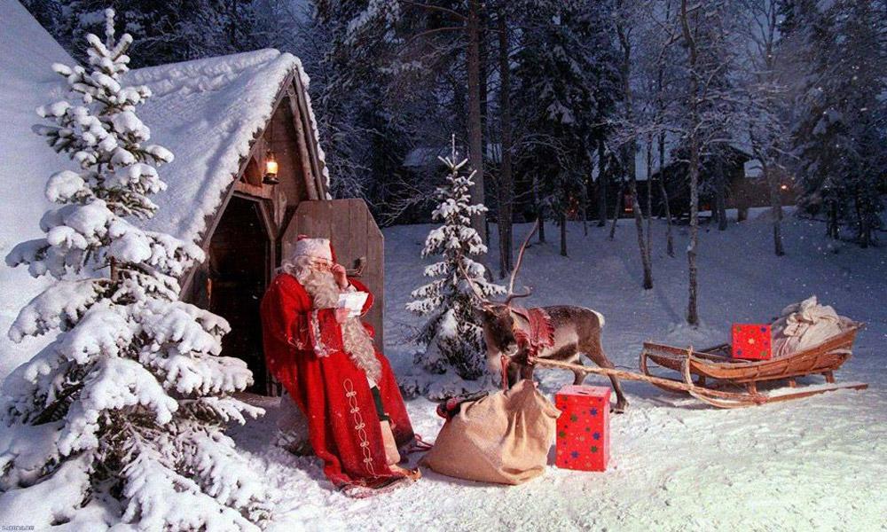 کریسمس در لاپلند فنلاند