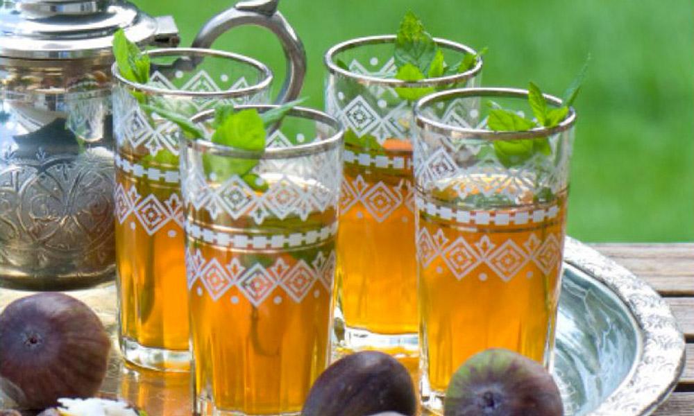 چای نعناع در موروکو