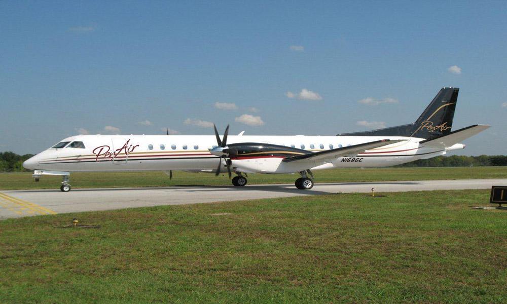 پرواز با هواپیمای بزرگ
