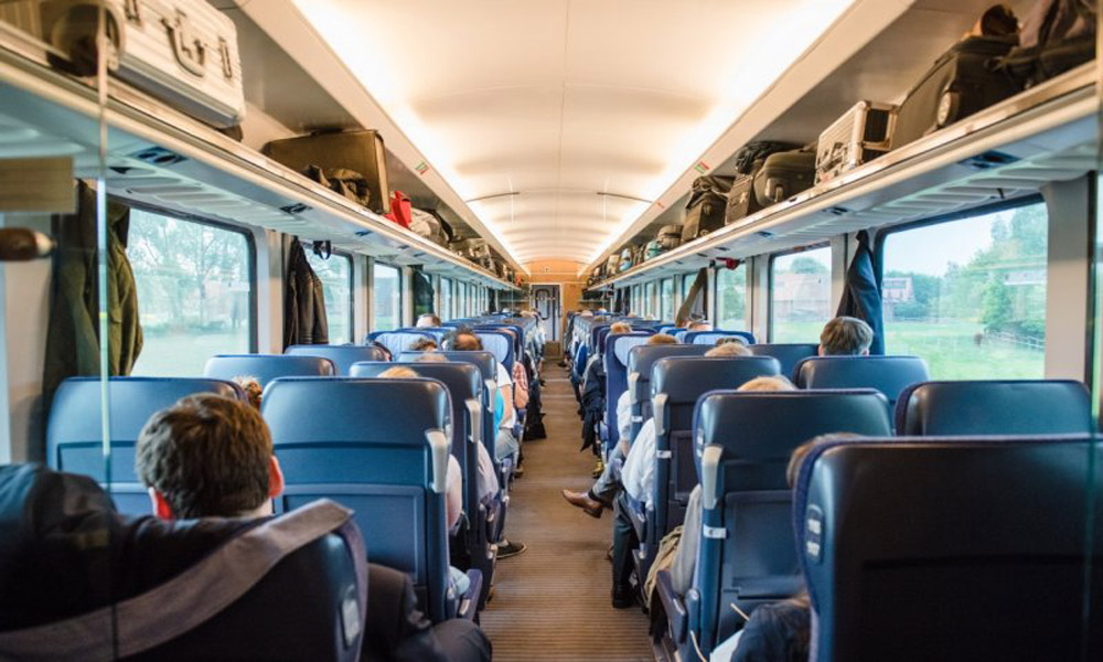 قطار آمستردام به پراگ