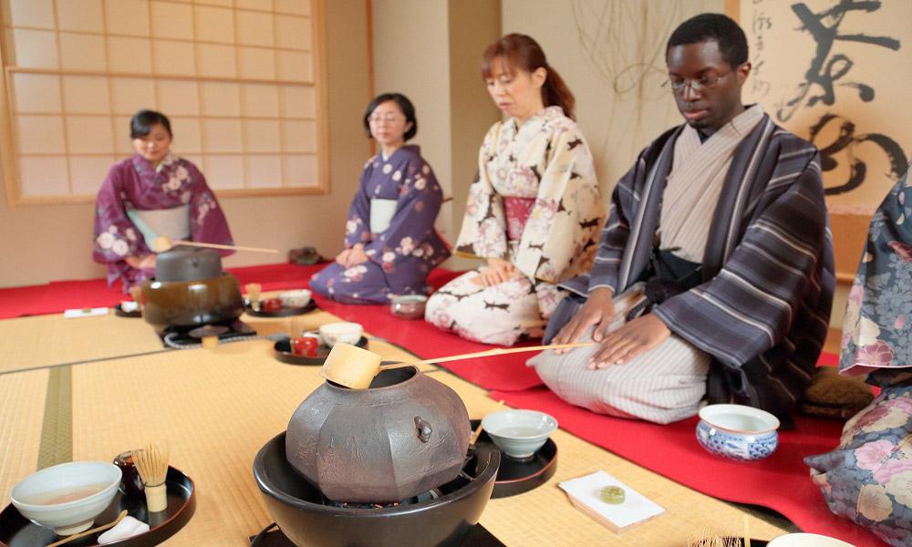 جشن چای در ژاپن
