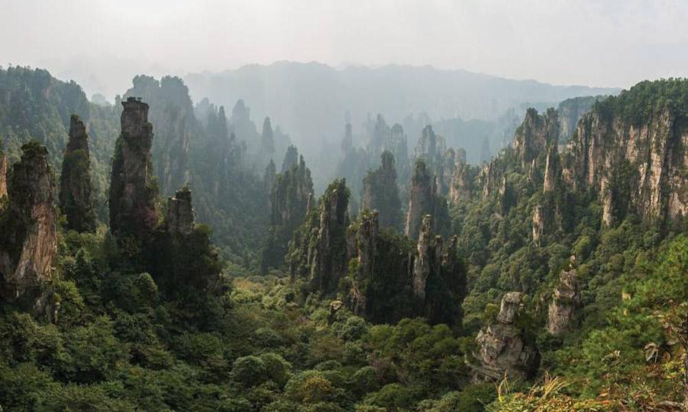 کوه های تیانزی