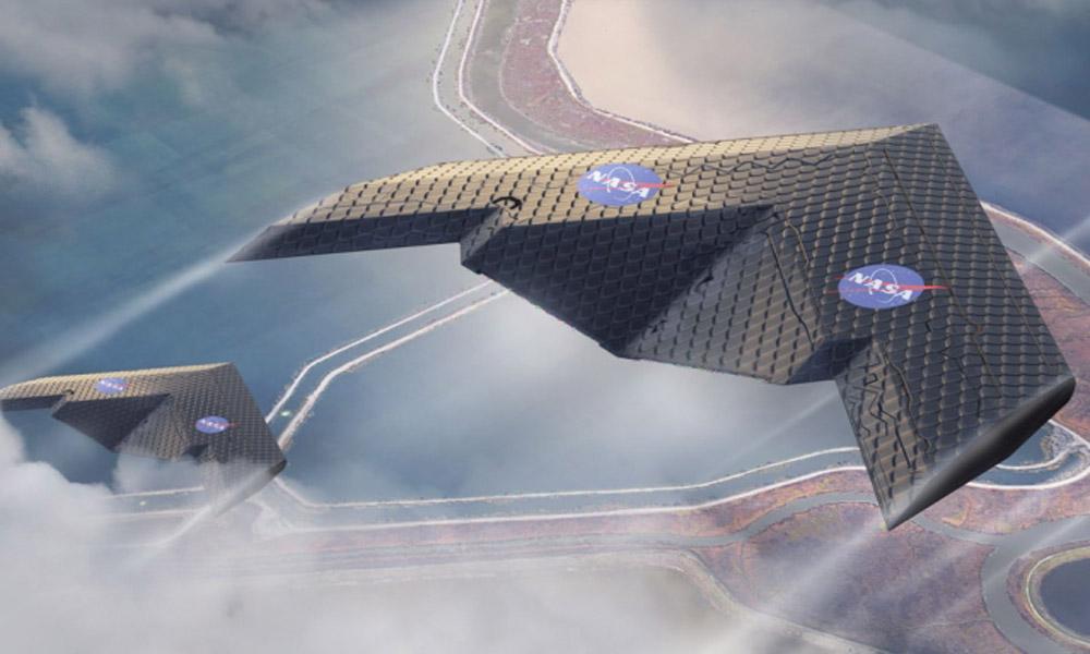 بال های جدید در ناسا