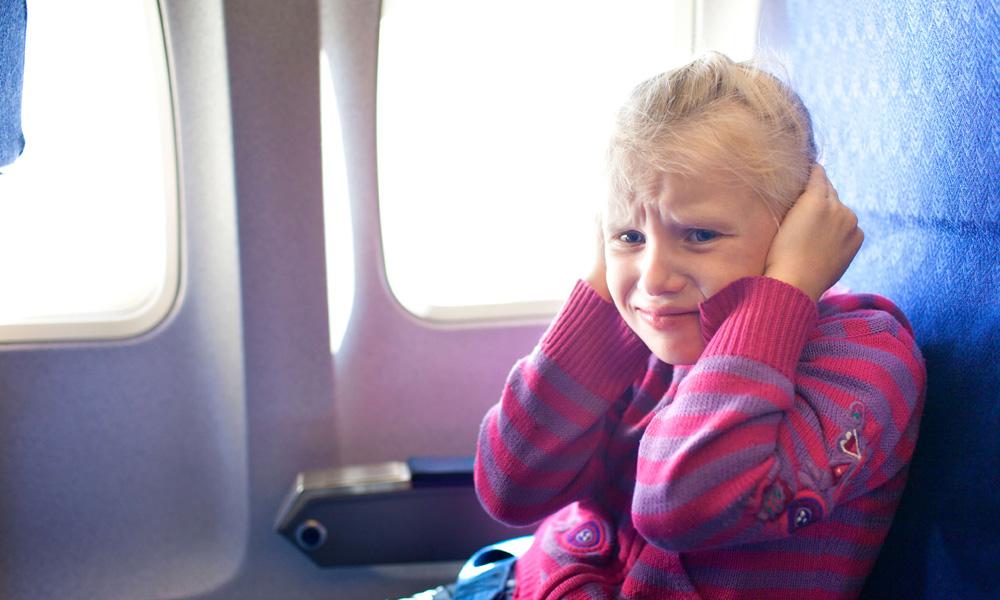 گوش درد در هواپیما