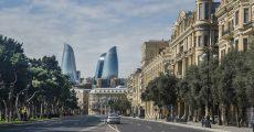نمایی از شهر باکو