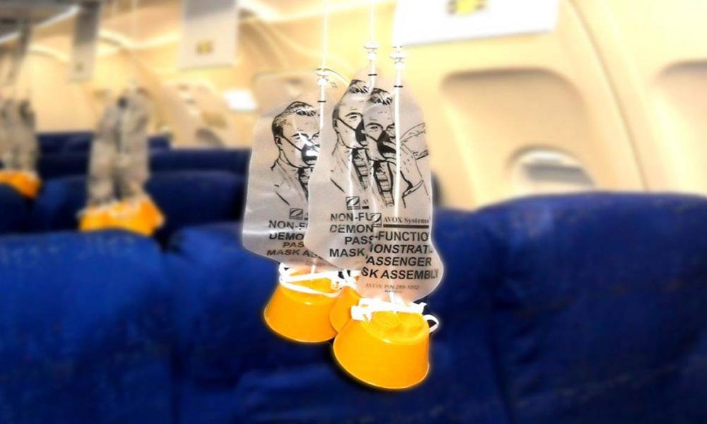 ماسک های اکسیژن هواپیما