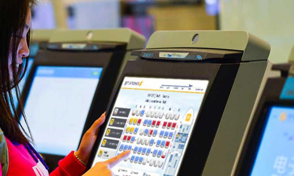 کیوسک های هوشمند رزرو صندلی در فرودگاه