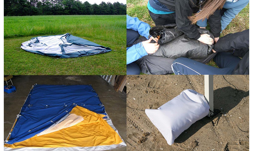بستن چادر مسافرتی میله ای