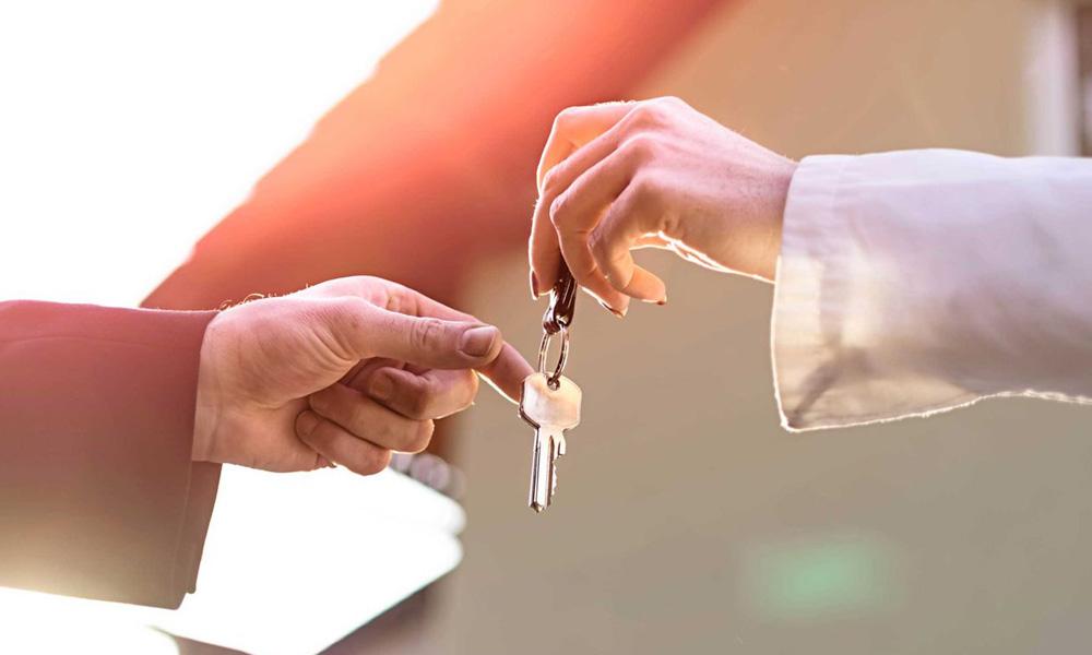 کلید دادن به همسایه ها