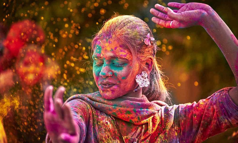 جشن هولی در هند