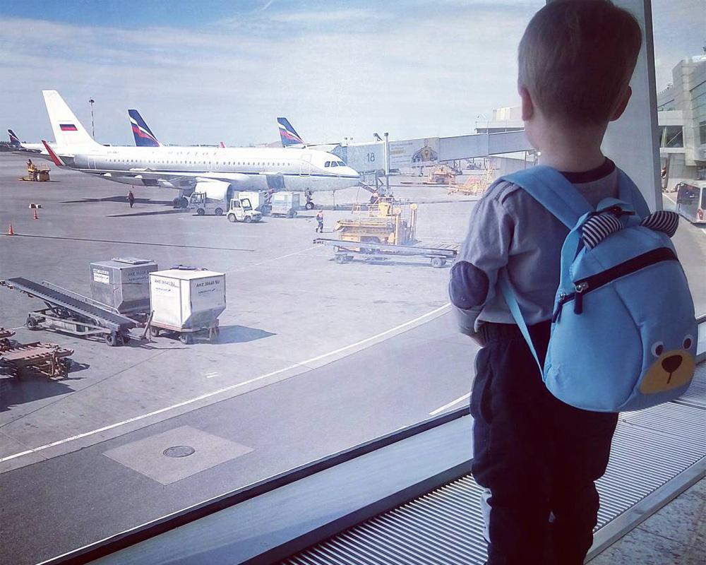 سفر کودکان و نوزادان با هواپیما