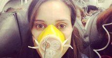 استفاده از ماسک اکسیژن