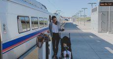 سفر ریلی با نوزاد